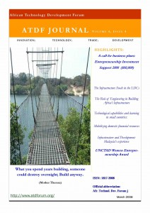 Cover Infrastructure Journal